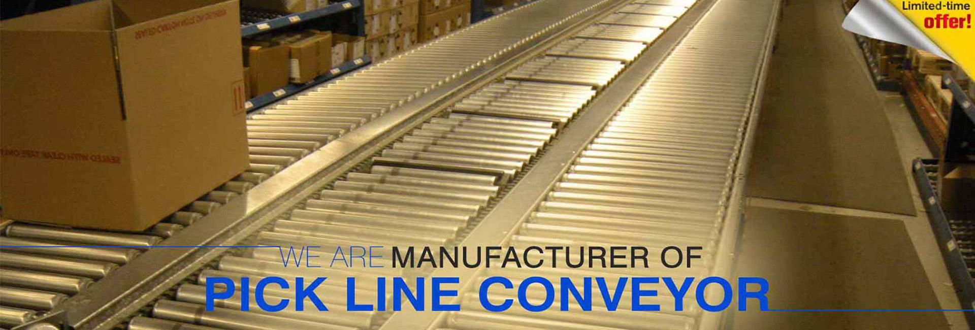 manufacturer of pick line conveyor